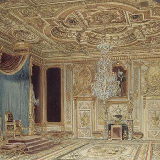 퐁텐블로 궁의 왕좌관