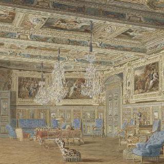 퐁텐블로 궁의 황제 접견실.