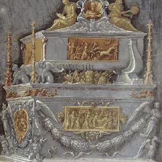 알비즈 코르나로 () (1475-1566)을 위한 장례 기념건조물 계획안