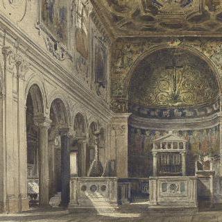 생 클레망 교회 (로마) 내부 정경