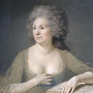 보즈 부인의 초상, 화가의 부인