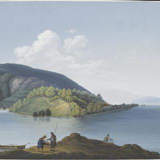 비엘 호수의 전경
