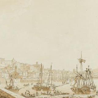 1797년 2월 9일 앙콘을 점령한 프랑스 군대