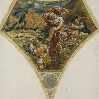 대 (大) 플리니우스의 죽음