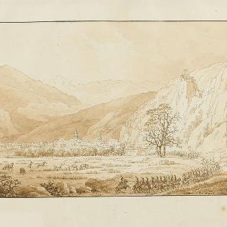 1797년 3월 살루스에 입성한 주베르 장군