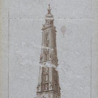 300m의 탑, 전경