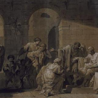 그의 군사였던 어느 농부의 환대를 받는 벨리사리우스