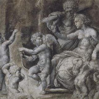 비너스, 에로스, 불카누스와 다섯 명의 푸티