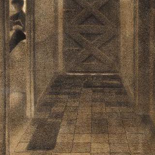 현관의 계단 계획안, 횡단면, 종단면