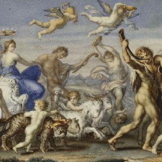 바쿠스와 아리안의 승리