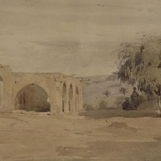베이루트의 회교도 사원의 전경