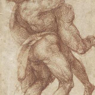 안타이오스의 목을 조르는 헤라클레스