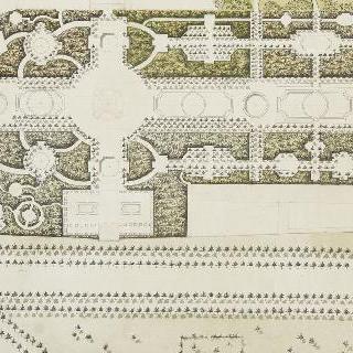 프티 트리아농 정원의 1차 보수 계획안