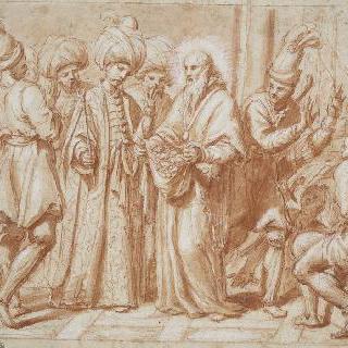터키인 노예들을 풀어주는 사제