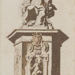 교황 바오로 5세 보르게즈 상 (像) 계획안