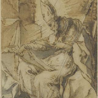 책을 읽은 성 엘루아
