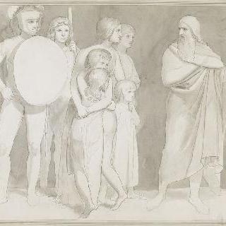 중세 이야기 장면