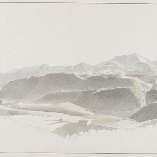 리에티 부근의 몽 사뱅의 전경 이미지