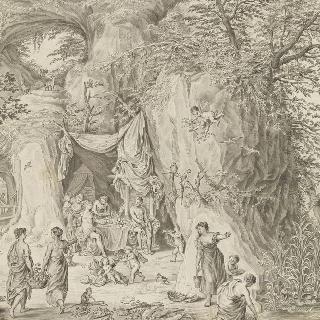 카핍소 동굴 안의 율리시즈