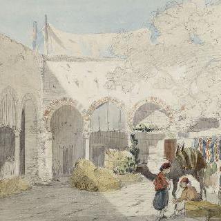 튀니스 뜰 내부, 1859년 7월 22일