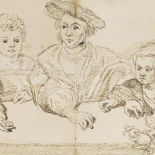 덴마크의 왕 크리티앙 2세의 아이들