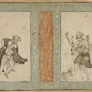 축소판과 이중으로 된 얇은 판 : 음악가와 이슬람교 수도승