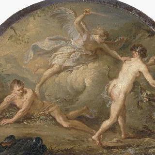 아담과 이브를 쫓아내는 천사