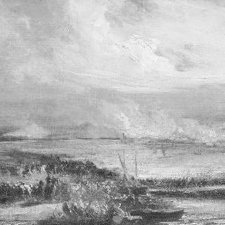 그로스 아펜 전투와 에슬링 전투에서의 무통 장군