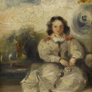 레오폴딘 위고로 추정되는 초상 (1824-1843)