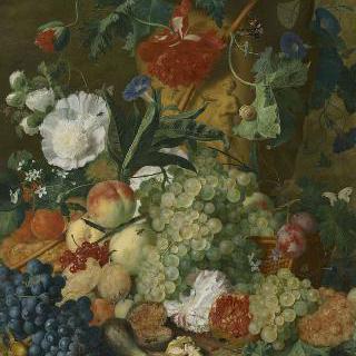 과일과 꽃들