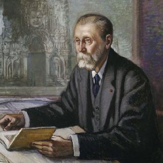 루이 마리 조세프 드라모르트의 초상 (1842-1925)