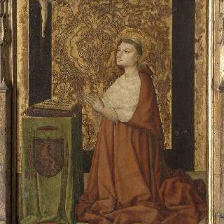 복자 피에르 드 룩셈부르그의 초상