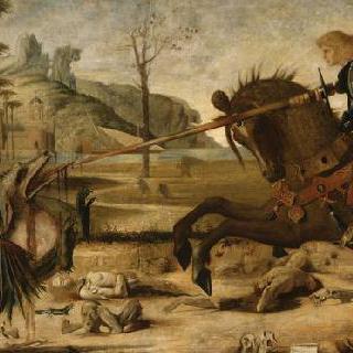 카르파치오의 성 게오르기우스와 용의 복제화