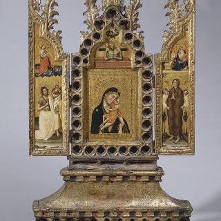 성 요한과 막달라 마리아에게 둘러싸인 성모와 아기 예수