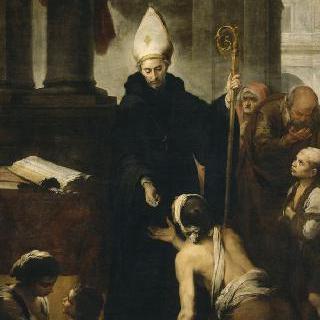 적선하는 성 토마스 드 빌라뉘에바