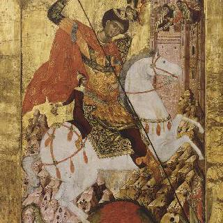 용을 쓰러뜨리는 성 게오르기우스