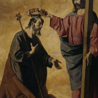그리스도가 왕관을 씌어주는 성 요셉