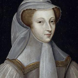 흰 상복을 입은 마리 스튜어트의 초상