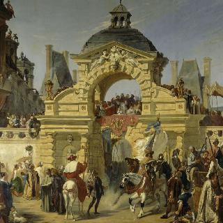 퐁텐블로 성에서 루이 13세의 세례