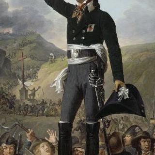 루이 마리 드 살그, 르스퀴르 후작 (1766-1793), 방데 지방의 장군