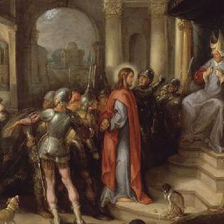 카이프 앞에 나타난 예수