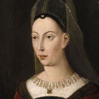 이자벨 드 부르봉, 샤를 르 테메레르의 두 번째 부인의 초상 (1465년 사망)