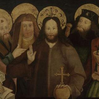 그리스도를 둘러싸고 있는 사도들