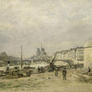 파리의 센 강변