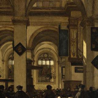 감리 교회의 내부