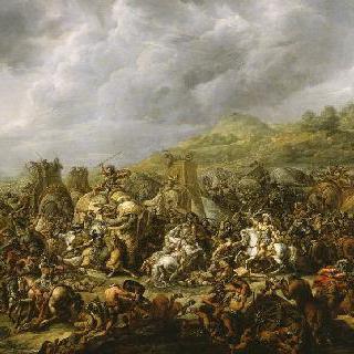 알렉산더에게 패한 포루스 왕 (1802년)