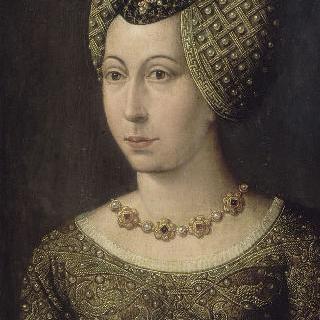 마르그리트 드 바비에르의 초상, 장 성 페르의 부인 (1424년 사망)