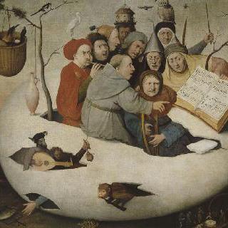 달걀 속 음악회 (연금술의 풍자화)