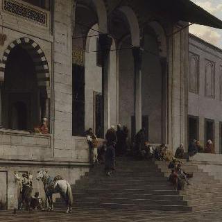 콘스탄틴의 에니 지아미의 회교 사원의 문