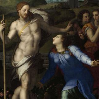 나를 만지지 마라' 막달라 마리아에게 나타난 그리스도
